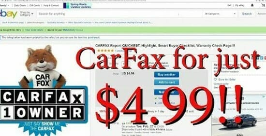 carfax discount